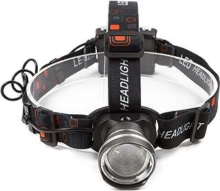 Lightess led ヘッドライト 2000ルーメン 単3 電池式 超軽量タイプ 防水 ズーム機能 3点灯モード 釣り LED ヘッドランプ