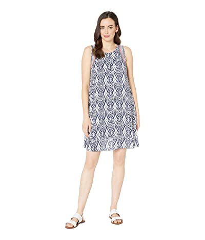 Hatley Meghan Dress (Block Medallion Blue) Women