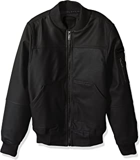 Urban Republic Boys' Aviator Jacket with Faux Leather Pocket