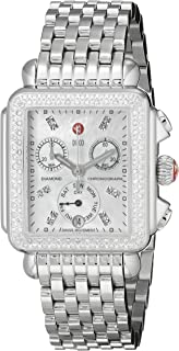 Women's MWW06P000099 Deco Analog Display Swiss Quartz Silver Watch