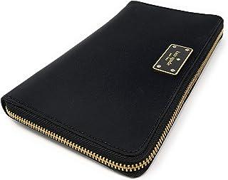 Kate Spade Kaden Extra Large Travel Passport Wallet Black