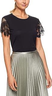 TOMMY HILFIGER Women's Lace Comfort Fit T-Shirt