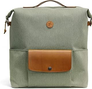 Practico Arte. hge Brompton Backpack(for M&P bar) Olive, w/Frame, Bag, Handmade in Seoul, Korea