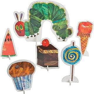Fun Express - Very Hungry Caterpillar Centerpiece for Birthday - Party Decor - General Decor - Centerpieces - Birthday - 6 Pieces