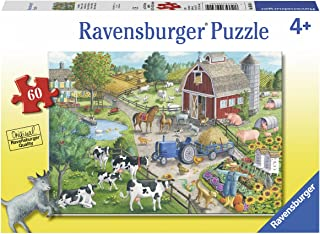 Ravensburger 9640 Home on The Range Puzzle 60pc