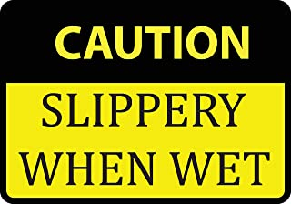 Best safety signs slippery when wet Reviews