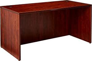 Lorell Desk Shell, 60 by 30 by 29-1/2-Inch, Cherry