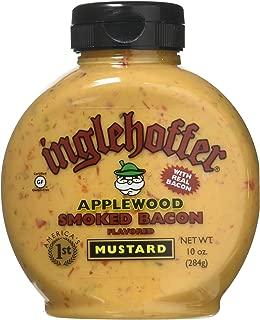 Inglehoffer Applewood Bacon Mustard, 10 Ounce Squeeze Bottle