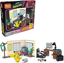 Mega Construx Pokemon Detective Pikachu, The Office of Harry Goodman, Construction Game, 183 piezas, para niños a partir de 6 años, GGK26