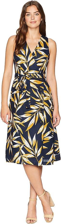 J.O.A. Button Up Wrap Dress