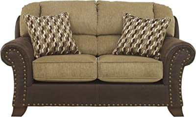 Amazon.com: Signature Design by Ashley - Casual Sofa, Jute ...