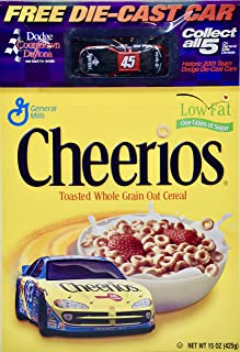2001 - General Mills - Cheerios Collectible Box/Kyle Petty #45 Dodge Intrepid R/T Sprint 1:64 Scale Die Cast - Collectible - Rare
