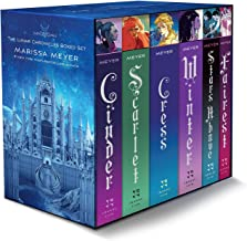 The Lunar Chronicles Boxed Set: Cinder, Scarlet, Cress, Fairest, Stars Above, Winter