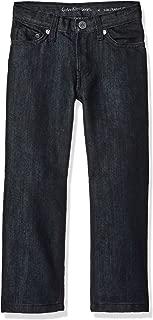 Calvin Klein Boys' Slim Straight Denim Jean
