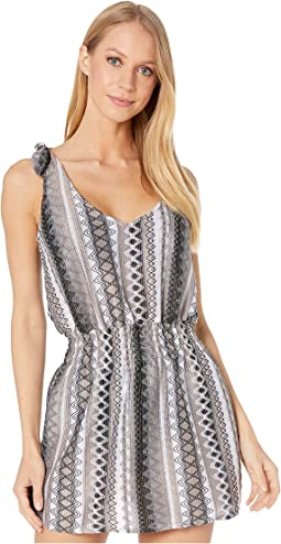 Rio Bueno Tie Shoulder Dress Cover-Up