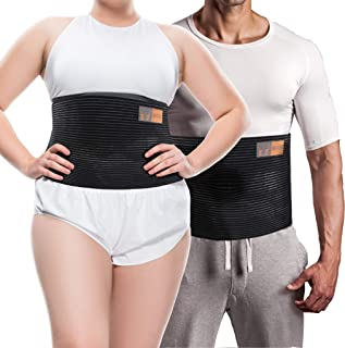 Plus Size Umbilical Hernia Support Belt I Pain and Discomfort Relief from Umbilical, Navel, Ventral and Incisional Hernias I Hernia Binder for Big Men and Large Women I XXL/2XL