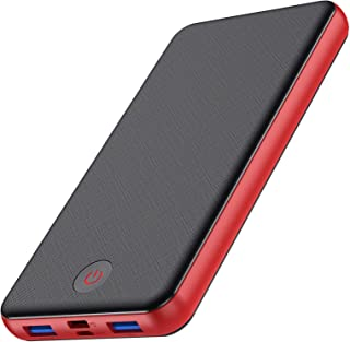 HETP Power Bank 26800mah,Caricabatterie Portatile【3 Uscita-18W PD USB C & QC 3.0 & Micro USB 】 Ricarica Rapida Caricatore ...