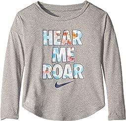 Hear Me Roar Modern Long Sleeve Tee (Toddler)