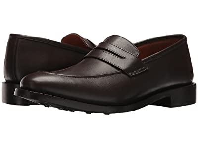 CARLOS by Carlos Santana Navarro (Dark Brown Full Grain Calfskin Leather) Men