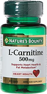 Nature's Bounty L - Carnitine Tablets, 500 mg