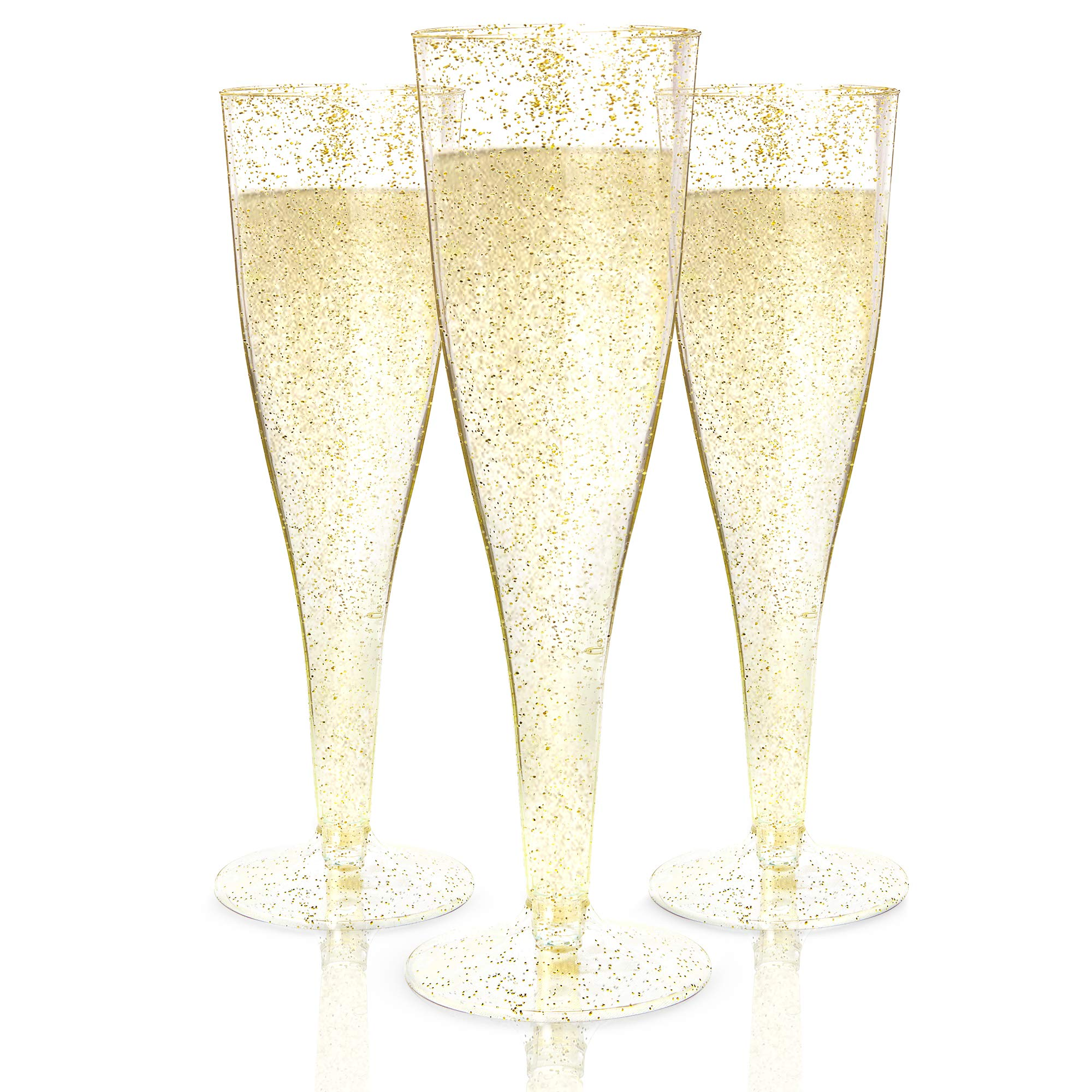 Plastic Champagne Flutes Disposable Toasting