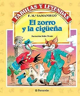 El zorro y la cigüeña (Fabulas y leyendas) (Spanish Edition)