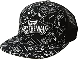 Vans - Classic Patch Trucker Plus X Peanuts Collaboration