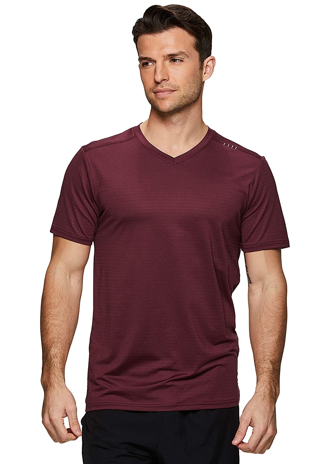 RBX Active Men's Performance Workout Gym Short Sleeve T-Shirt