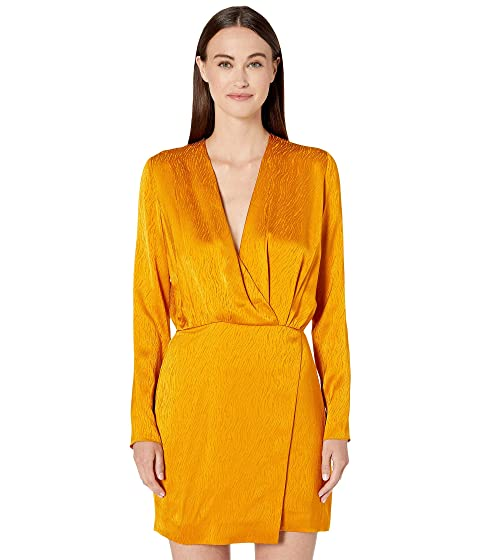d4ac85a14f3 Cushnie Long Sleeved Mini Dress w/ Blouson Top at Luxury.Zappos.com