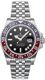 GMT Master II Mechanical (Automatic) Black Dial Mens Watch 126710BLRO (Certified Pre-Owned)