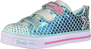 Skechers 斯凯奇 女童 Twinkle Lite - Sparkle Scales 运动鞋