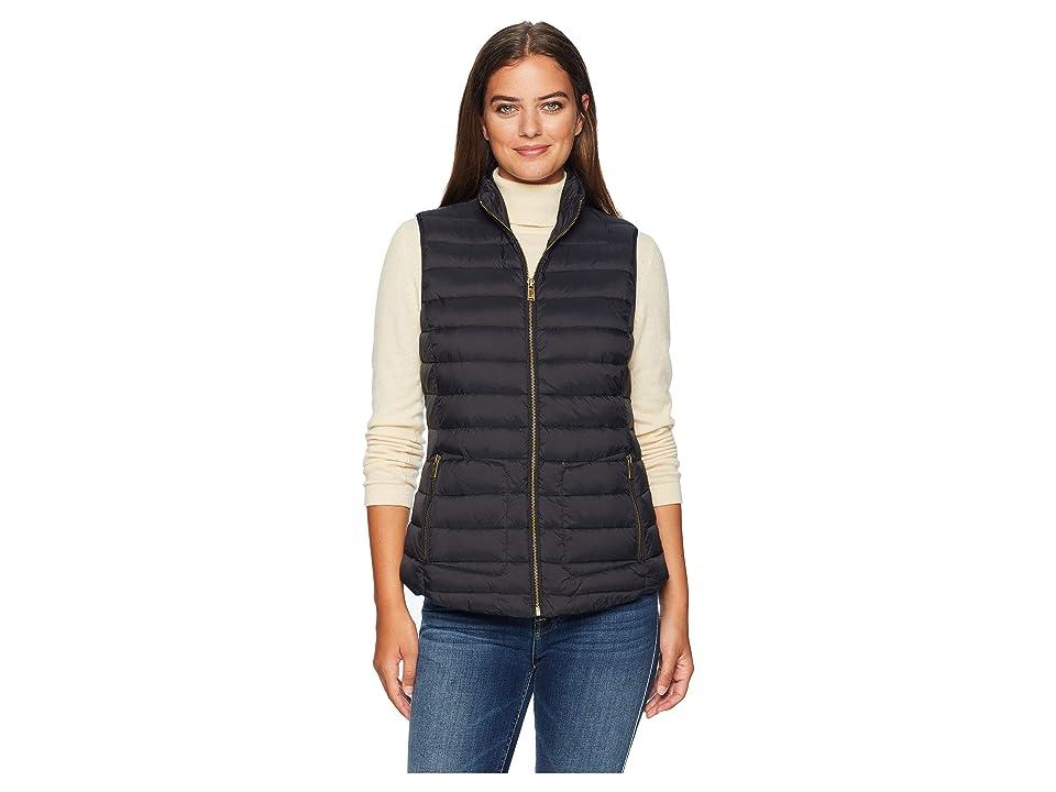 Pendleton Zip Front Vest (Black 1) Women