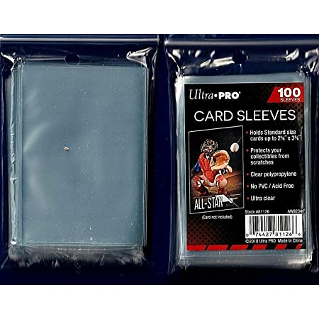 2 PACK OF 100 SLEEVES BCW THICK CARD SOFT SLEEVES