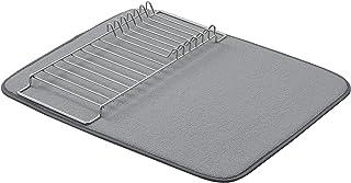 "AmazonBasics Drying Rack and Mat - 16"" x 18"" - Charcoal & Nickel"