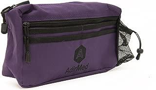 AdirMed Wheelchair Pouch - Rollator Pouch - Walker Pouch - Purple
