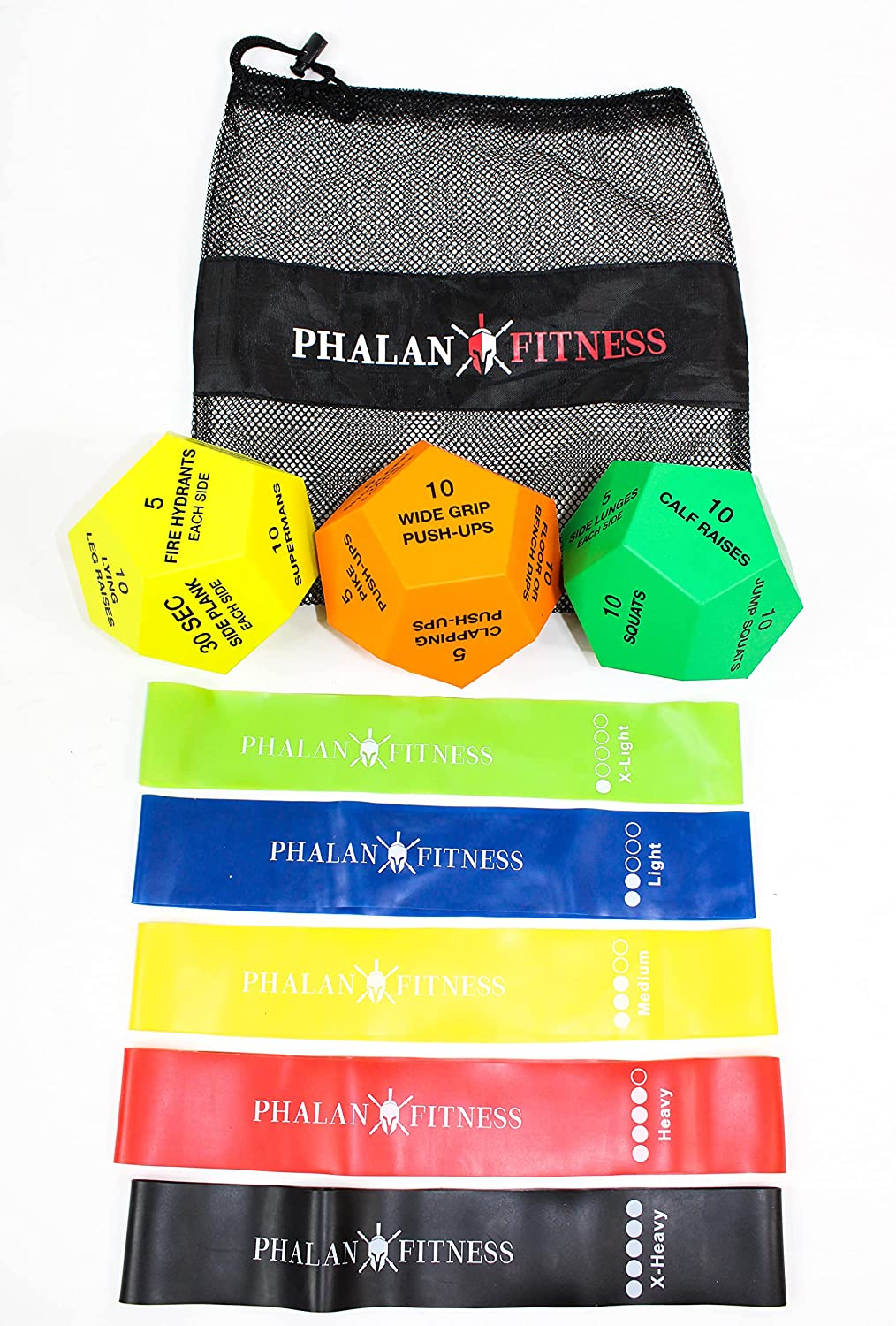 Dealing full price reduction Phalanx Fitness Exercise Dice Selling and selling with for Bands- Excellent