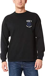 OBEY Clothing Men's LA Familia LS TEE
