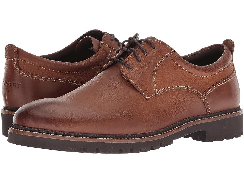Rockport Marshall Plain Toe Oxford (Fawn) Men