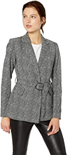 Calvin Klein Women's Belted Double Breasted Jacket
