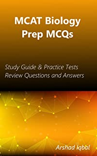 MCAT Biology Prep MCQs: Study Guide & Practice Tests Review Questions and Answers (English Edition)