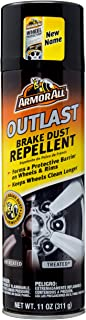 Armor All Car Brake Dust Repellent, Cleaner for Tires, Wheels, and Rims, Outlast, 11 Fl Oz, 18191B