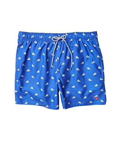 Ted Baker Lob Lobster Print Swim Shorts (Bright Blue) Men