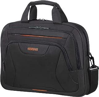 At Work Briefcase, 42 cm, 15 Litre, Black/Orange