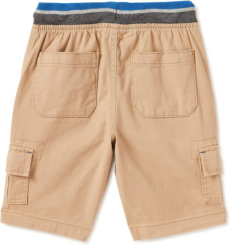 Wonder Nation Clothing Boy's Beige Jogger Shorts