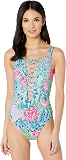 lilly pulitzer isle lattice one piece
