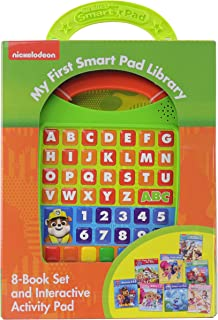 Nick Jr. - Paw Patrol, Blue's Clues, Bubble Guppies, and more! Me Reader Electronic Reader 8 Sound Book Library - PI Kids