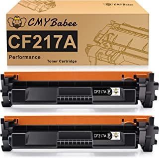 CMYBabee Compatible Toner Cartridge Replacement with Chip for HP 17A CF217A for Laserjet Pro M102w M102a MFP M130fw M130nw...