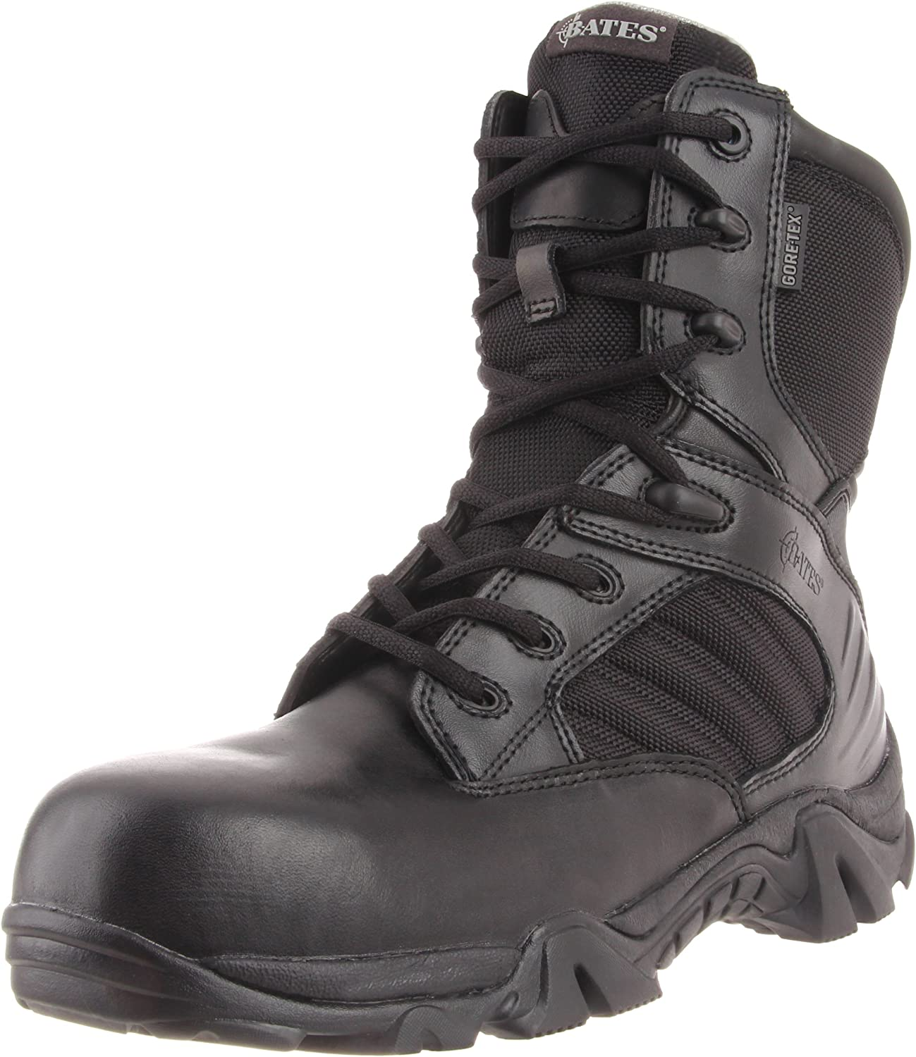 Bates Men's 8 Inch GTX Ultra Lites Comp Uniform Work Boot