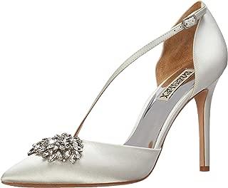 Badgley Mischka Womens MP4304 Palma White Size: