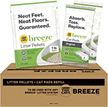 Purina Tidy Cats Breeze Litter System Bundle Pads + Pellets Refills